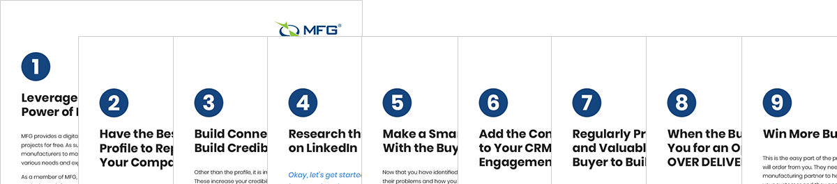 MFG and LinkedIn Page Thumbnails