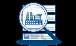 Magnifying Glass on Manufacturer Database